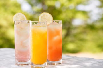 image of tasty mocktails